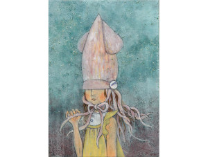 烏賊の帽子(10×15cm)2013