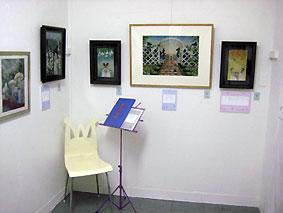 マニフェストギャラリー「ふたりの植物園、温室の君へ」 2011年2月3日〜10日
