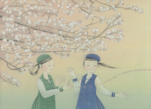 春を綴じるweb